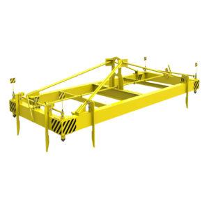 Траверса ТРК3 для контейнеров 20 футовых автоматическая 24 тонный