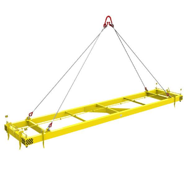 Траверса ТРК5 г/п 30,0т автоматическая для 40-футовых контейнеров