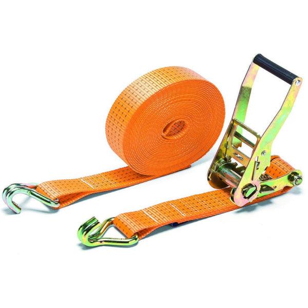 Оранжевый ремень для стяжки грузов 50мм SV300062