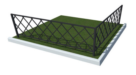 изготовление металлических ограждений для газонов цена тюмень
