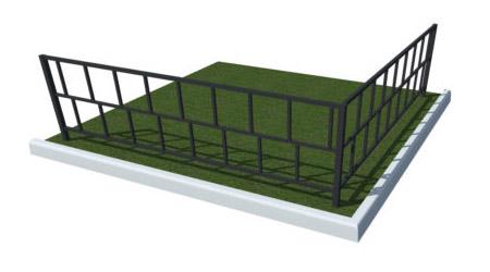 заказать металлическую ограду тюмень с монтажом