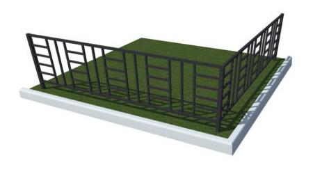 ограды для могилок на кладбище купить в тюмени красивые металлические цена фото