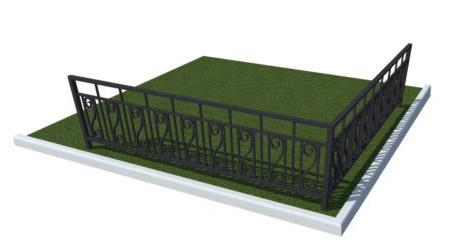изготовление металлических ограждений для парков заказать оптом у производителя