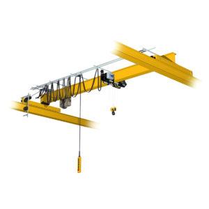 Кран мостовой однобалочный опорный однопролётный