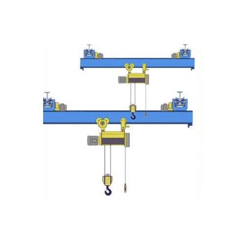 Кран мостовой однобалочный подвесной однопролётный