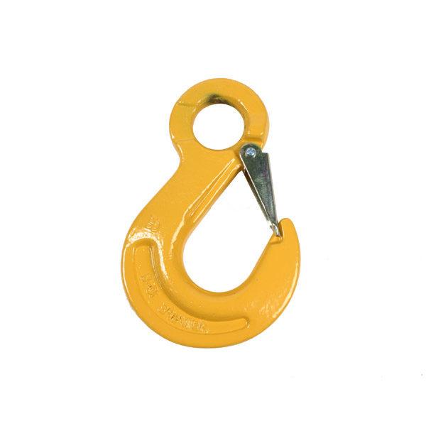 крюк для цепных строп с проушиной salk