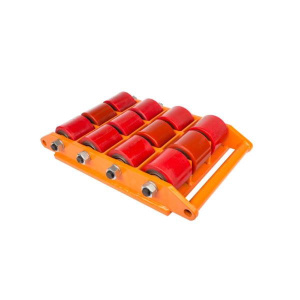 Роликовая платформа поворотная с полиуретановыми катками