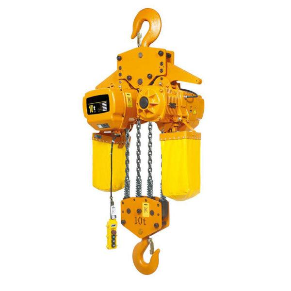 Таль стационарная 10 тонн электрическая цепная TOR ТЭЦС HHBD-10