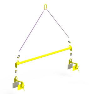Траверса линейная для сэндвич-панелей TLSP (г/п 1 т, 3м)