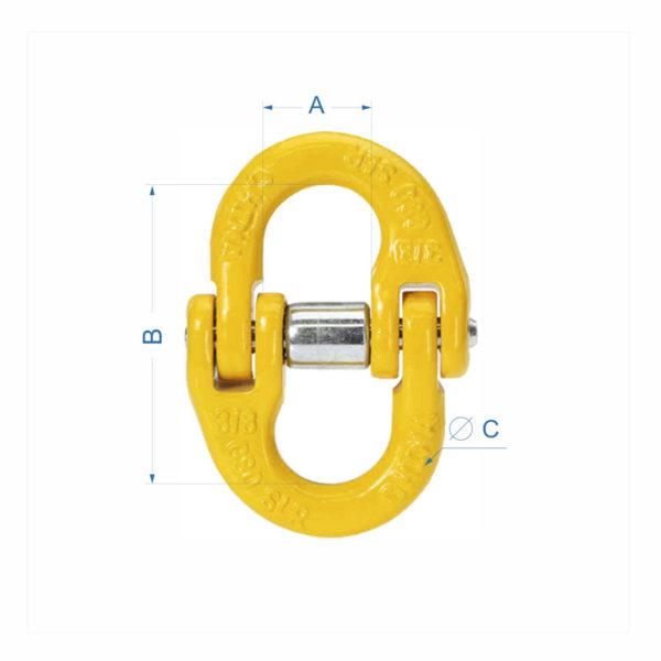 звено соединительное LL хаммер для цепных строп